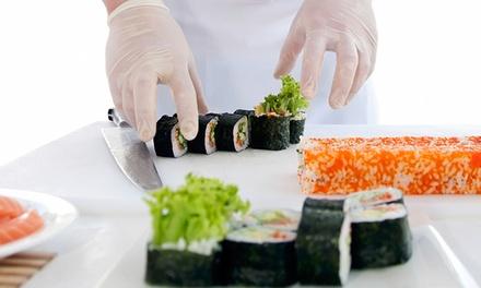 Curso de sushi con degustación desde 19 €