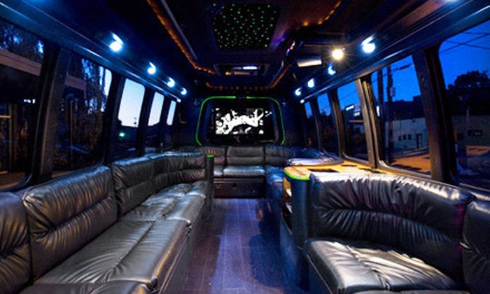 Creative Bus - Tukwila: Winery Tour for Up to 18 or Two- or Four-Hour Party-Bus Rental for Up to 18 from Creative Bus (Up to 57% Off)