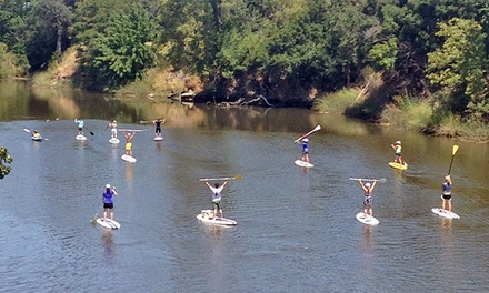 $129 for Two-Hour Standup Paddleboard Tour for Two with Wine at Napa Valley Paddle ($258 Value)