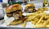 Meat Stop - Brentwood: Handmade Beef Burger with Seasoned Fries for Two, Four or Six at Meat Stop (Up to 50% Off)