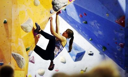 image for Boulder Central: Adult Climbing Induction, Shoe Hire and Adult Membership from £6 (Up to 81% Off)