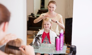 Designs by Kelsey: One, Two, or Three Children's Haircuts at Designs by Kelsey (Up to 50% Off)
