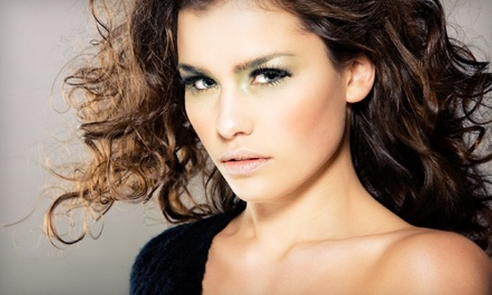 Plumage Hair Company - Ocala: Styling Package with Customized Conditioning and Optional Highlights at Plumage Hair Company (Up to 51% Off)