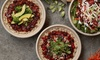 Freshii  - Multiple Locations: Two Entrees and Juices or Three Groupons, Each Good for $8 Worth of Healthy Food at Freshii (Up to 40% Off)