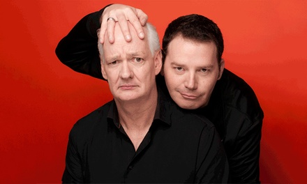 Indianapolis Colin Mochrie and Brad Sherwood: Two Man Group coupon and deal