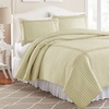 Solid Quilt Sets with Frame Squares (3-Piece)