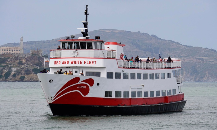 Red and White Fleet - Fisherman's Wharf: $20 for One Adult Ticket for the Golden Gate Bay Cruise from Red and White Fleet (Up to $30 Value)