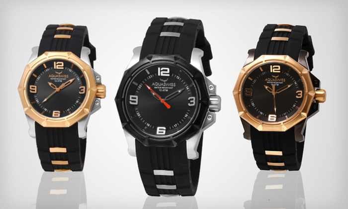 Aquaswiss Vessel G Watch: $150 for an Aquaswiss Vessel G Watch ($1,000 List Price). Seven Styles Available. Free Shipping and Free Returns.
