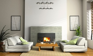 Decor Group Inc.: 1 or 10 Boxes of Environmentally-Friendly Recycled Wood Firewood Bricks from Decor Group Inc.(Up to 54% Off)
