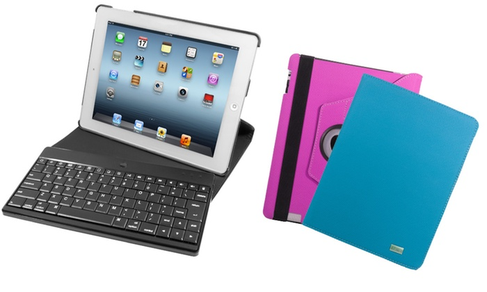 iHome Swivel Bluetooth Keyboard Case for iPad: iHome Swivel Bluetooth Keyboard Case for iPad (iH-iP2103). Multiple Colors Available. Free Returns.
