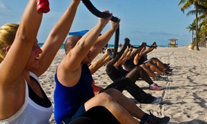 Elit'corp USA: Four, Six or Eight Bootcamp Classes from Elit'corp USA (Up to 76% Off)