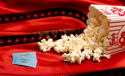 image for <strong>Movie</strong> and Large Popcorns for Two or Four at North Bend Theatre (Up to 36% Off)