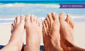 HCS Medspa: $149 for One Comprehensive Laser Toenail Fungus Treatment on Ten Toes at HCS Medspa ($450 Value)