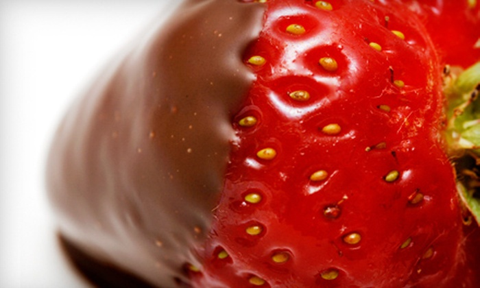 Morkes Chocolates - Pepper Tree: Chocolate-Strawberry and Shoe-Decorating Class or Chocolate Party at Morkes Chocolates in Palatine (Half Off)