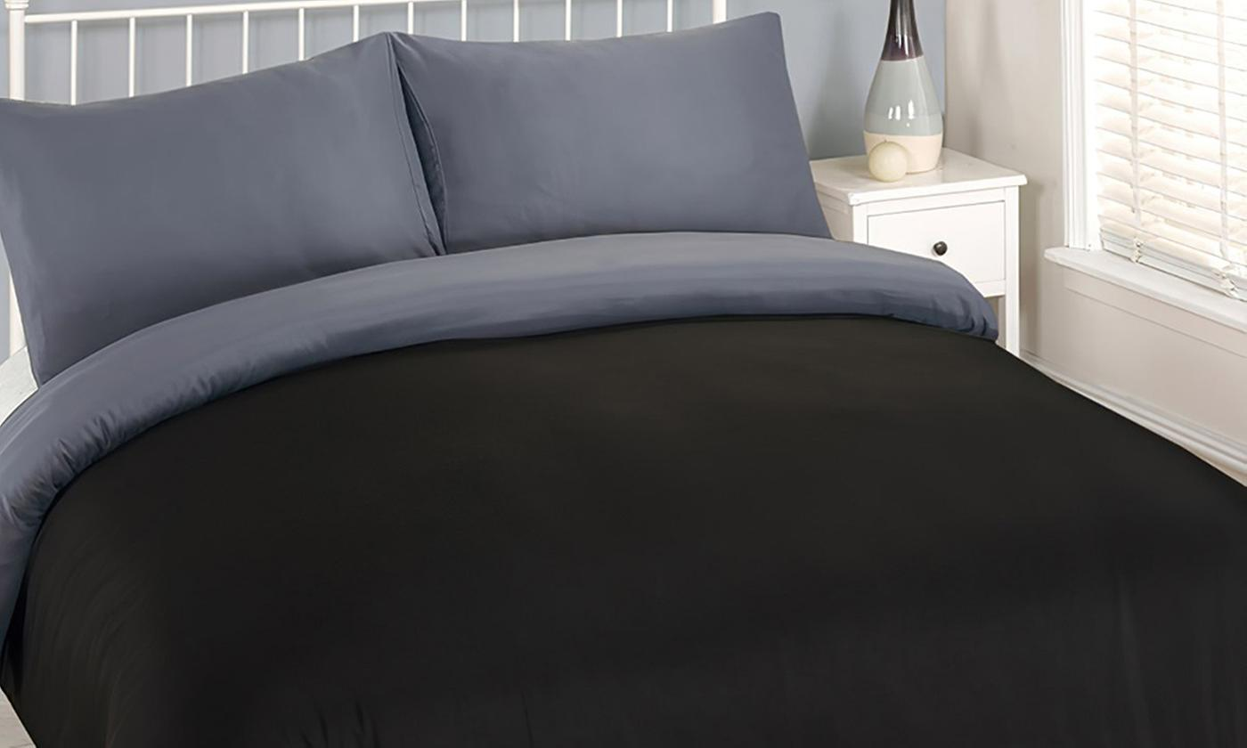 Four-Piece Reversible Bedding for £14