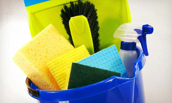 A+ Pro Cleaning - East Sacramento: $75 for Four Man-Hours of Housecleaning from A+ Pro Cleaning (Up to $140 Value)