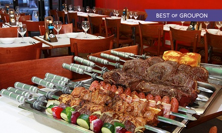AllYouCanEat Brazilian Barbecue at Rodizio Brazil