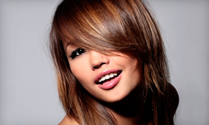Sole Salon & Spa - Elk Grove: Haircut, Style, and Deep Conditioning with Optional Highlights at Sole' Salon & Spa in Elk Grove (Up to 61% Off)
