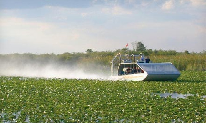 Everglades Holiday Park - Fort Lauderdale: $12.50 for Airboat Tour and Alligator Presentation from Everglades Holiday Park (Up to $25 Value)
