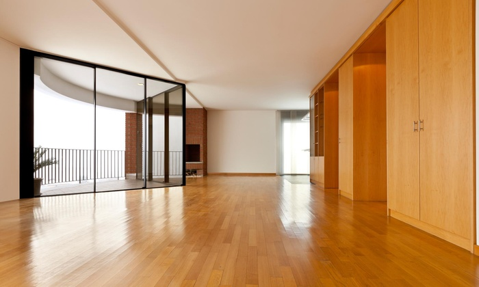 Lilia's Tough Maids - Raleigh / Durham: Hardwood Floor Cleaning from Lilia's Tough Maids (55% Off)