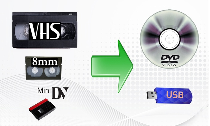 Quick Digitals - Quick Tape Transfers: Up to 50% Off VHS, 8MM or MiniDV to DVD or USB Conversion at Quick Digitals