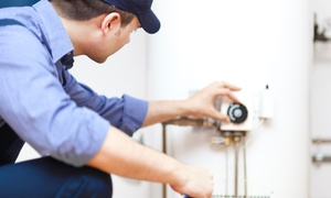 Colepepper Plumbing: $59 for Water-Heater Tune-Up, Flush, and 14-Point Inspection from Colepepper Plumbing ($132 Value)
