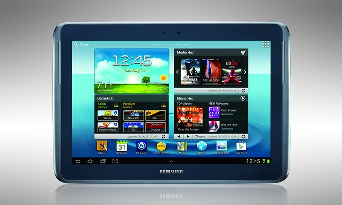"""Samsung Galaxy Note 10.1"""" 32GB Tablet: Samsung Galaxy Note 10.1"""" 32GB Tablet with S Pen and Pouch (Manufacturer Refurbished). Free Returns."""