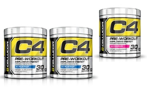 Cellucor C4 Pre-workout Powder Supplement; 30 Or 60 Servings From $29.99–$44.99