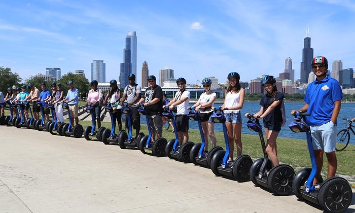 Bike and Roll Chicago - Millennium Park: Sunset Segway Tour from Millennium Park for One or Two from Bike and Roll Chicago (Up to 50% Off)