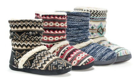Muk Luks Women's Scrunch Slippers