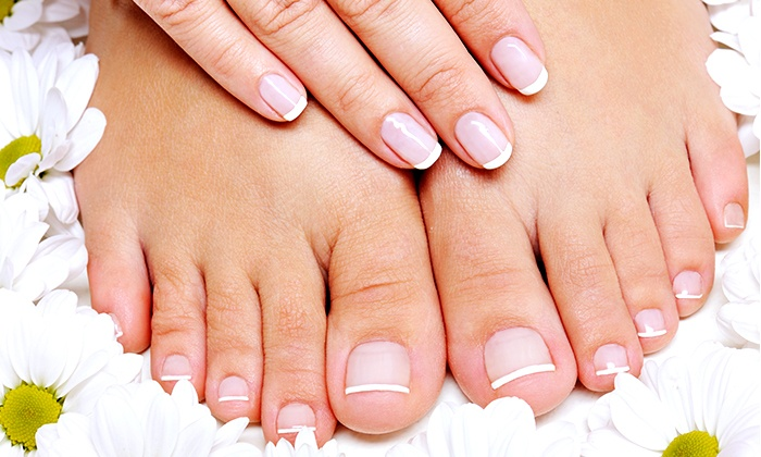Nails by Brianna - Shaker Heights: One or Two Mani-Pedis at Nails by Brianna ( 40% Off)