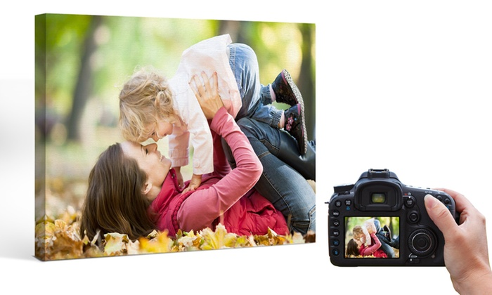 Printerpix: One or Two Custom Photo Canvases from Printerpix (Up to 80% Off). Four Sizes Available.