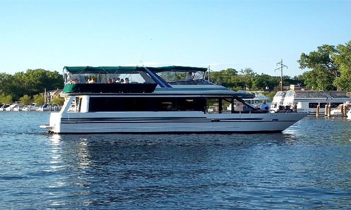 Wayzata Bay Charters - Excelsior: Fall Colors Cruise for One, Two, or Four from Wayzata Bay Charters (Up to 55% Off)