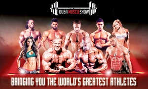 HBG Events: Dubai Muscle Show Day or Weekend Ticket, 21 - 22 October (Up to 40% Off)