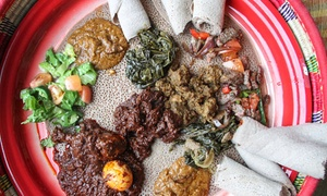 Habesha Restaurant & Bar: Ethiopian Food at Habesha Restaurant & Bar (Up to 55% Off). Three Options Available.