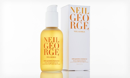 4 Oz. Bottle of Neil George Indian Gooseberry Hair-Treatment Oil.