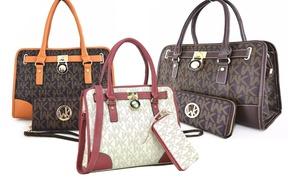 WK Collection Handbag and Purse Set (2-Piece)
