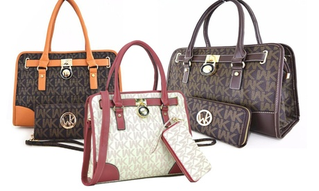 WK Collection Handbag and Purse Set (2-Piece) (Goods Women's Fashion Accessories Handbags) photo