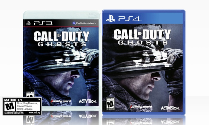 Call of Duty: Ghosts for PlayStation 3 or4 Deals for only $39 instead of $59