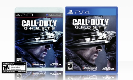 Call of Duty: Ghosts for PlayStation 3 or 4