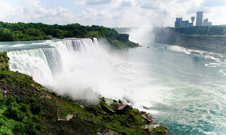 Stay with Breakfast at Travelodge Hotel by the Falls in Niagara Falls, ON. Dates into April.