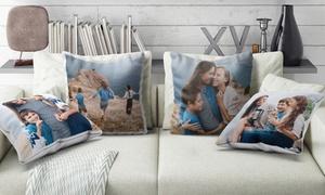 Photo Gifts: Uno o 2 cuscini personalizzati, con stampa foto effetto lucido o opaco offerti da Photo Gifts (sconto fino a 86%)