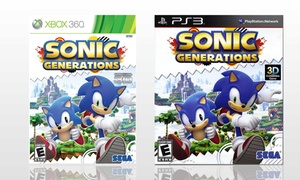 Sonic Generations on PS3 or Xbox360