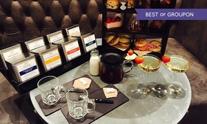 Fire Lake @ Radisson Blu Leeds: Afternoon Tea with Optional Glass of Prosecco for Two at Fire Lake at 4* Radisson Blu Leeds (Up to 32% Off)