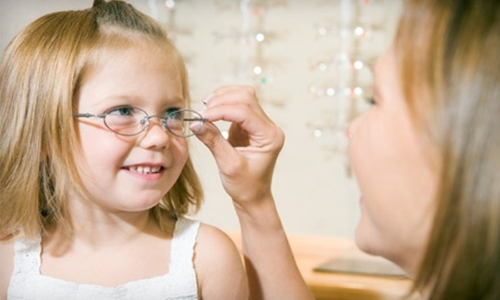 Joslin Family Eyecare - Pace: $50 for an Eye Exam and $200 Toward Frames and Lenses at Joslin Family Eyecare ($329 Value)