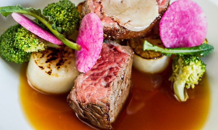 Flyte World Dining and Wine - Downtown Nashville: $65 for Dinner for Two with Appetizer and Dessert at Flyte World Dining and Wine (Up to $123 Total Value)