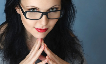 Prescription Glasses with Optional Eye Exam at Eye Doctor's Optical Outlets (Up to 74% Off)