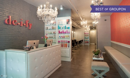 Three or Six Laser Hair-Removal Sessions at Deify Laser + Beauty Lounge (Up to 88% Off)