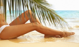 AfterGlow Skin Spa: One or Three Custom Spray Tans with Results in Up to Three or Eight Hours at AfterGlow Skin Spa (Up to 53% Off)
