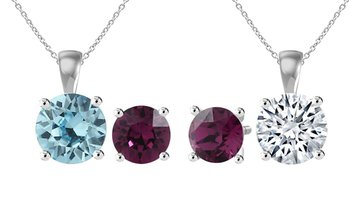 Birthstone Set with Swarovski® Crystals